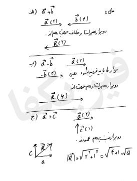 ph2 s1 2 baraiand 6 mesal کمیت های برداری و برآیند بردارها 1