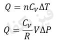 1 2 khas 3 فرآیند های خاص 1 (هم حجم،هم فشار)