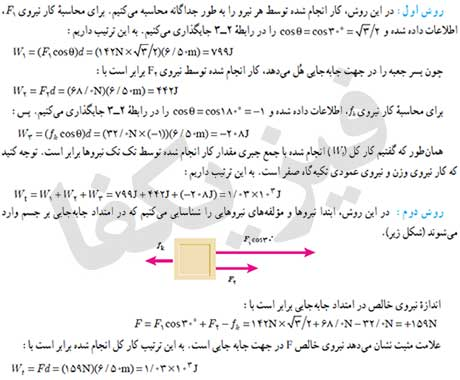 ph10 s2 kar 12 کار نیروی ثابت