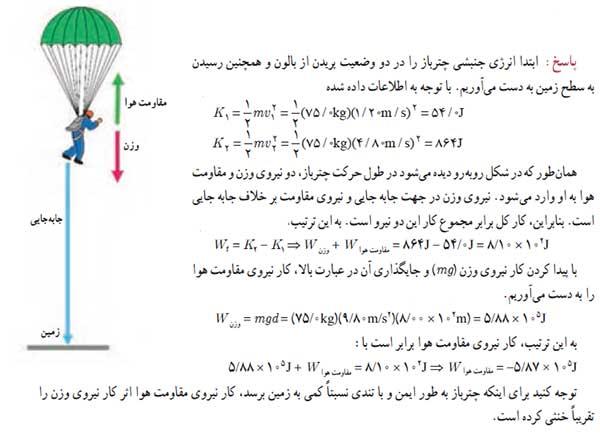 ph10 s2 karoenerji kar jonbeshi 01 قضیه کار انرژی جنبشی