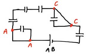 ph3 s2 2 bastankhazen 01 به هم بستن خازن ها در مدار های الکتریکی