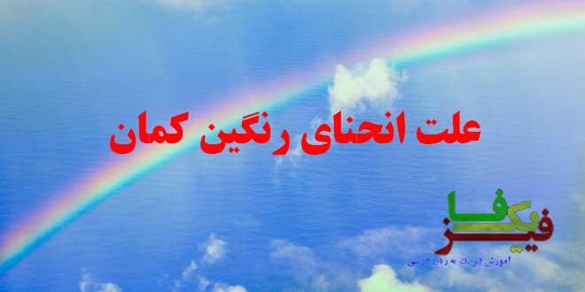 ph d rainbow curve 00 علت انحنای رنگین کمان