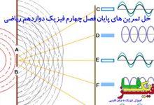 حل تمرین های فصل چهارم فیزیک دوازدهم ریاضی