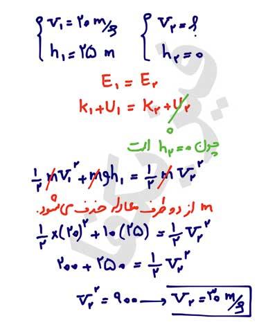 ph10 s2 mekaniki 05 پایستگی انرژی مکانیکی