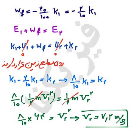 ph10 s2 mekaniki 20 پایستگی انرژی مکانیکی